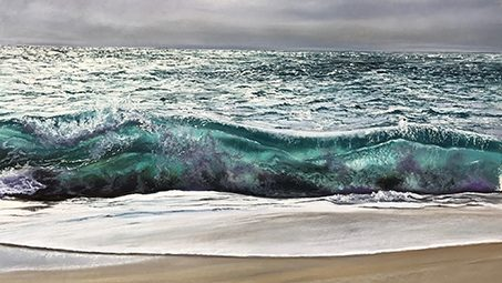 EXHIBITION: JENNIFER THORPE   SEA'S THE MOMENT